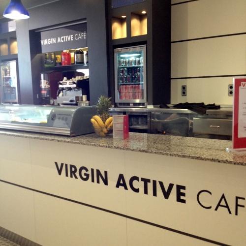 Decoración Mobiliario Virgin Active Café