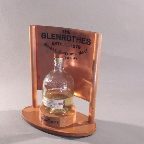 PLV: Soporte Metálico para The Glenrothes