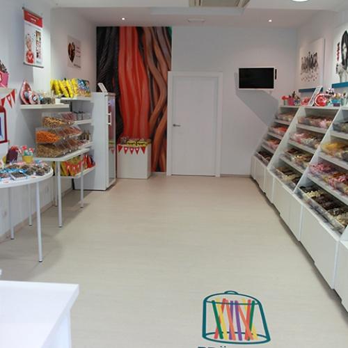Decoración tienda de dulces